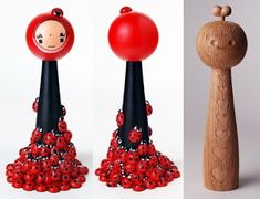Mimin Dolls: kokeshi