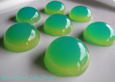Blue Hawaii Jello Shots - recipe seems a little complicated, but I'm sure I can simplify