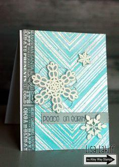 Lisa's Creative Niche: Snow Card