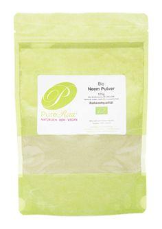 Neem-Pulver, 125 g, Rohkostqualität und Bio, Ayurveda (Niem), Herkunft: Indien - PureRaw