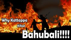 Check out the hilarious answer on why Kattappa killed bahubali by Sudh Desi Endings.
