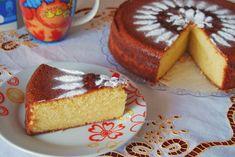 Greek Cake, Yami Yami, Vanilla Cake, Food And Drink, Favorite Recipes, Yogurt, Cooking, Sweet, Desserts