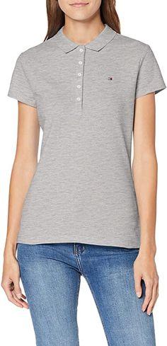 Tolles Shirt ...  Bekleidung, Damen, Tops, T-Shirts & Blusen, Poloshirts Tommy Hilfiger Damen, Shirt Bluse, Slim, Sleeves, Mens Tops, Fashion, Summer, Clothing, Moda