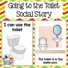 Toilet training visuals kit with social story and data for for Using the bathroom social story