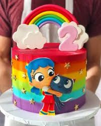 Tru and the rainbow kingdom for the sweetest baby girl 5th Birthday Party Ideas, Baby Birthday Cakes, Baby Girl Cakes, Rainbow Birthday Party, 2nd Birthday, Cake Baby, Rainbow Parties, Little Girl Birthday, First Birthdays