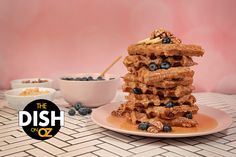 Daphne Oz's Leftover Oatmeal Waffles: Create this indulgent breakfast recipe with leftovers. Quick And Easy Breakfast, Breakfast On The Go, Breakfast Bars, Breakfast Items, Breakfast Dishes, Bed Recipe, Oatmeal Waffles, Daphne Oz, Food Log