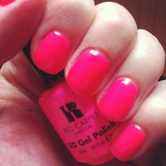 Ideas Gel Manicure Colors Shellac Red Carpets For 2019 French Manicure Gel, French Nails, Gel Manicure At Home, Red Manicure, French Manicure Designs, Manicure Colors, Gel Polish Colors, Nail Colors, Gel Nails