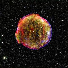 1a Supernova Remnant This undated photo shows a classic type 1a supernova remnant. Researchers Saul Perlmutter and Adam Riess of the United States and US-Australian Brian Schmidt won the 2011 Nobel Physics Prize on October 4, 2011 for their research on supernovae.
