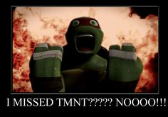OMG I AM SO LIKE THAT! I GOT SO MAD WHEN I MISSED THE TMNT SEASON 1 SEASON FINAL. I CRIED SO MUCH.