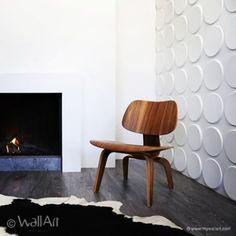 """Wallart gir en kul 3D- effekt på veggen og er enkelt å montere! Et ypperligDIY- produkt for deg som ønsker å pusse opp selv. Kan males før eller etter montering! <strong>Se monteringsvideo lenger nede på siden!</strong>  Vi har 4 trendygrafiske mønstre i tredimensjonal struktur som gir en wow-effekt!    <img class=""""alignnone size-full wp-image-2930 aligncenter"""" src=""""//wall-it.no/wp-content/uploads/2017/01/Ikon...."""