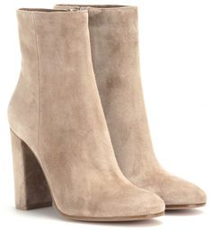 Love this by GIANVITO ROSSI Suede Ankle Boots - $975