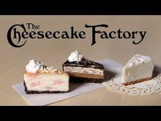 The Cheesecake Factory Miniatures - Polymer Clay Tutorial - YouTube
