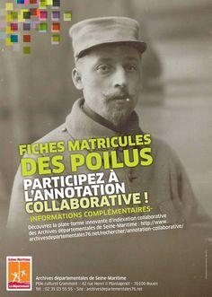 Participez à l'annotation collaborative des fiches matricules des poilus de Seine-Maritime http://www.archivesdepartementales76.net/rechercher/annotation-collaborative/