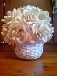 koszyk z różami