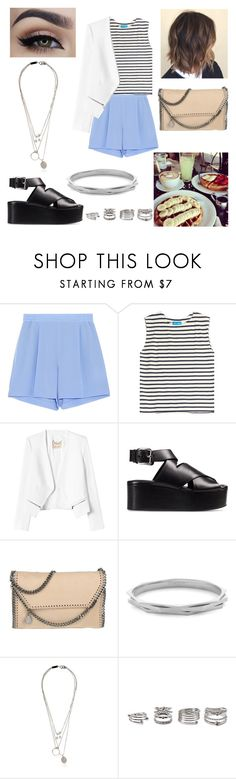 """10/08/16"" by milena-serranista ❤ liked on Polyvore featuring beauty, STELLA McCARTNEY, M.i.h Jeans, Rebecca Taylor, Alexander Wang, Louise et Cie, Maison Margiela and Forever 21"