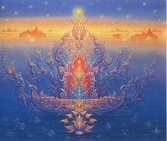 Thai artist, Chalermchai Kositpipat.