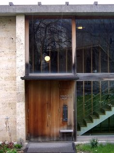 Residential home for the elderly, by Peter Zumthor