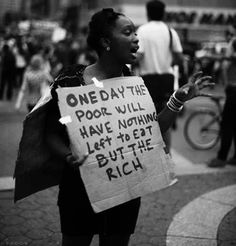 The poor.. The rich