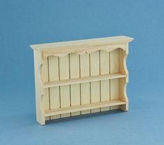 Wood Wall Shelf- Manor House Miniatures