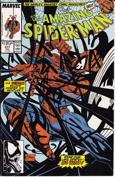 The Amazing Spider-Man #317 (July 1989) Cover &...