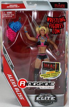 Alexa Bliss - WWE Elite 53 WWE Toy Wrestling Action Figure
