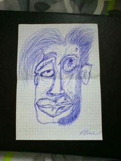 Niebieskim ołówkiem :p
