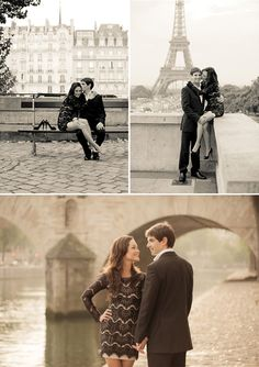 Paris honeymoon shoot by Juliane Berry - She and He, Poses for Wedding Couple and Engagement Photos Romantic Honeymoon, Romantic Getaway, Romantic Couples, Honeymoon Ideas, Romantic Gifts, Paris Photography, Couple Photography, Engagement Photography, Paris Engagement Photos
