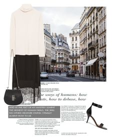 """Winter Layers: Slip Dress"" by martso ❤ liked on Polyvore featuring Paule Ka, The Row, Givenchy, Chloé, women's clothing, women's fashion, women, female, woman and misses"