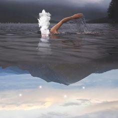 Charlie Davolie es un fotógrafo que utiliza solo su iPhone para crear hermosos mundos surrealistas en imágenes. http://hipertextual.com/2016/01/charlie-davoli-fotografia-iphone