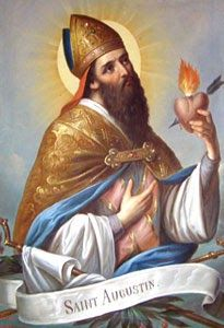 SAINT AUGUSTINE Bishop and Doctor of the Church