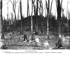 """The """"Grand Mound"""" is located about 17 miles form International Falls Minnesota and has been closed to visitors."""