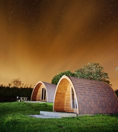 camping pod near to Eden Project
