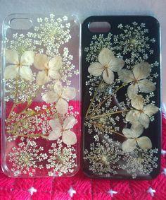 Pressed Flower iPhone 5 Case,iPhone 5s Cases,iPhone 6 Case,Clear iPhone 5c Case,Samsung Galaxy s5 Case,Pressed Flower Phone Case