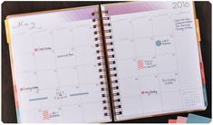 2 Page Month at a Glance