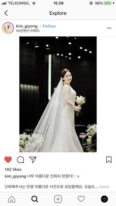 Wedding dress for church ceremony