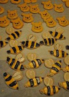 bumble bee sugar cookies & winnie the pooh sugar cookies
