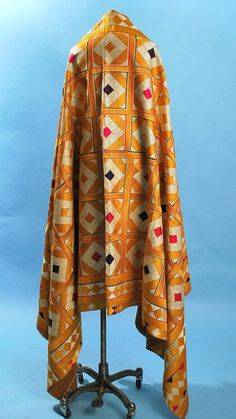 Antique Densely Embroidered Phulkari Bagh Wedding Textile Punjab