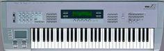 Korg Z1, Multi Oscillator Synthesis System. Virtual Analog synthesizer, 1997.