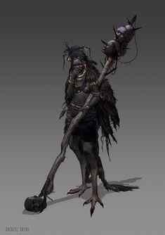 Robotpencil Character Design Class - Vulture, Dhenzel Obeng on ArtStation at https://www.artstation.com/artwork/robotpencil-character-design-class-vulture