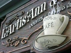 3D Foam Sign Antiqaiare CUP view