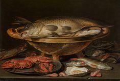 Stilleven met vis - Clara Peeters