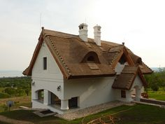 Balatonakali - tervező: Mérmű Építész Stúdió Home Projects, Cottages, New Homes, Houses, Cabin, Country, Architecture, House Styles, Outdoor Decor