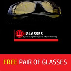 GET YOUR FREE PAIR OF GLASSES! JUST PAY FOR THE SHIPPING https://iiglasses.com/collections/free-glasses-0-01  #sunglasses   #nightglasses   #eyeglasses   #free  #giveaway