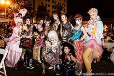 Rococopunk group at Labyrinth of Jareth Masquerade Ball. Photo by Jerry Abuan.