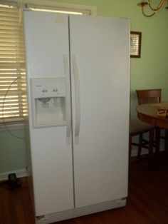 used whirlpool side by side refrigerator. refrigerator in probonos garage sale gadsden , al for . white side by used whirlpool b