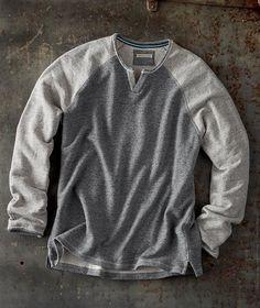 Effortlessly Cool Men's Sweaters - MV Pullover - Carbon2Cobalt