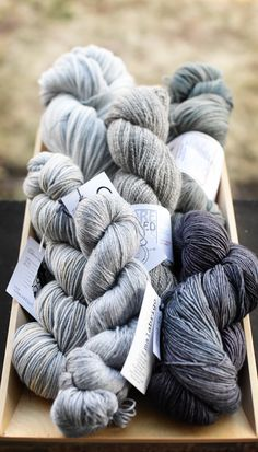 More Shades: more yarns for the upcoming Curls 2 book.