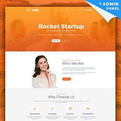 Startup MotoCMS 3. Responsive Landing Page Template