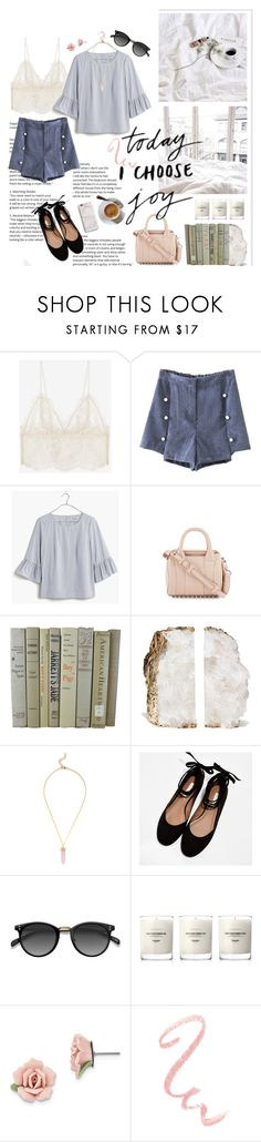 """""""joie"""" by emyemoemu ❤ liked on Polyvore featuring Anine Bing, Madewell, Alexander Wang, CHARLES & KEITH, Ace, Baxter of California, 1928 and Harper & Blake"""