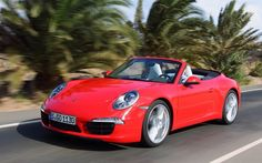 2012 Porsche 911 Cabrio on the roads of Gran Canaria.    Email this to a friend    Share    Delicious  Digg  Facebook  Reddit  Twitter  more